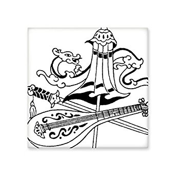 355x355 China Chinese Umbrella Sword Dragon Chinese Lute Traditional