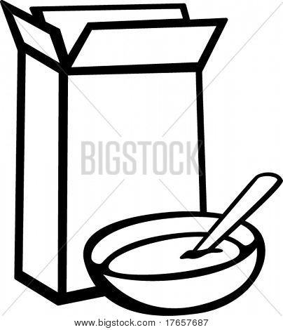 404x470 Cereal Box Bowl Vector Amp Photo Bigstock
