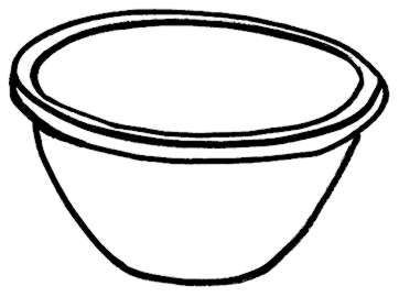 362x270 Ideal Cereal Bowl Clipart
