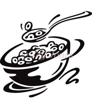 311x366 Nice Bowl Of Cereal Clipart Cheerios Cereal Bowl Stock