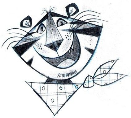 423x383 I'M In Love With Retro Tony The Tiger. Tony The Tiger