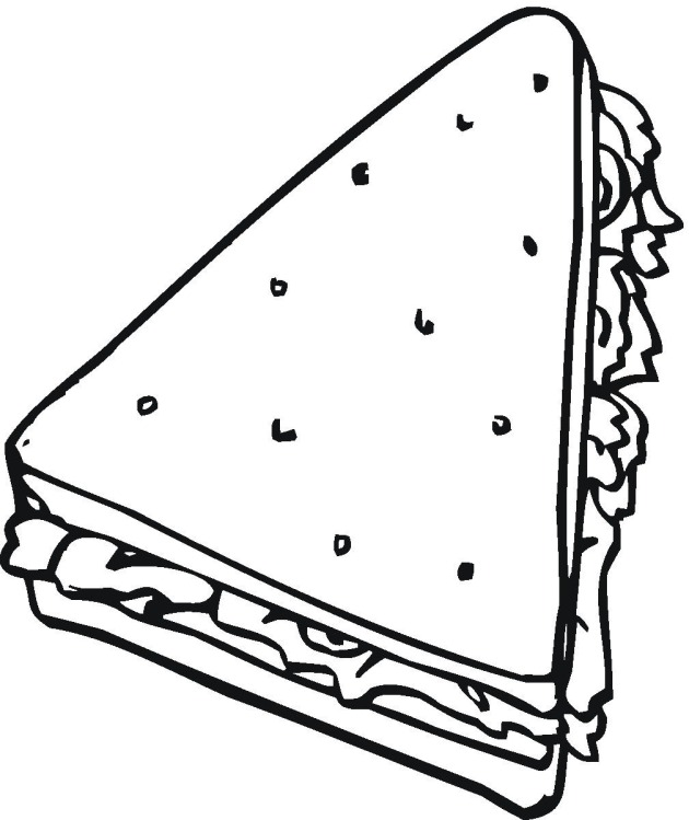 630x749 Free Bread Amp Cereal Coloring Pages Kolorowanki Pinterest