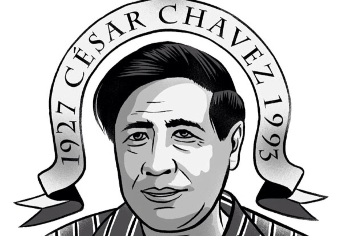1124x768 Cesar Chavez Drawing Cesar Chavezs Gu