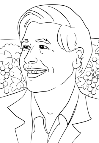333x480 Cesar Chavez Coloring Page Free Printable Coloring Pages