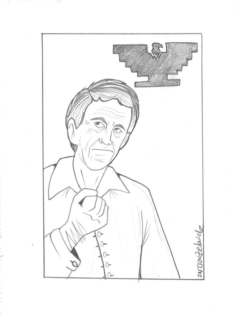 786x1017 Cesar Chavez (Drawing) By Creativ Ziv