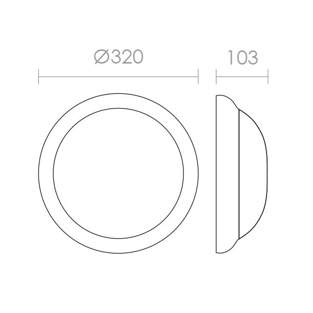 640x640 Optico Midi Cfl