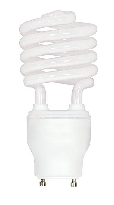 379x679 Satco S8206 23 Watt (100 Watt) 1600 Lumens Mini Spiral Cfl Soft