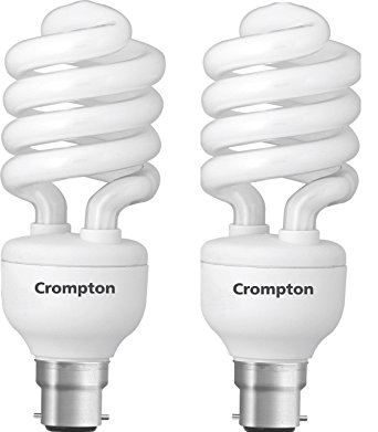 342x391 Buy Crompton B22 Cfl25dfsprl65 H Bo 25 Watt Spiral Cfl Lamp (Pack