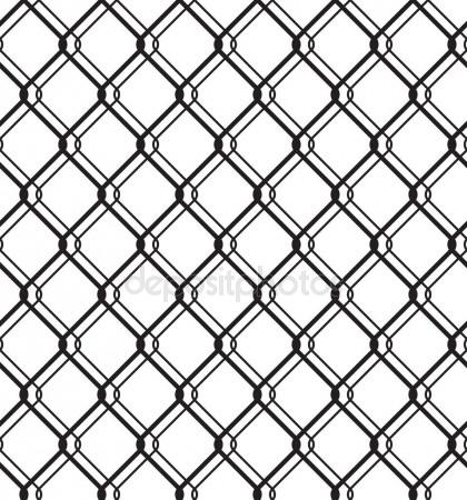 420x450 Chain Link Fence Texture Stock Vector Yellowpixel