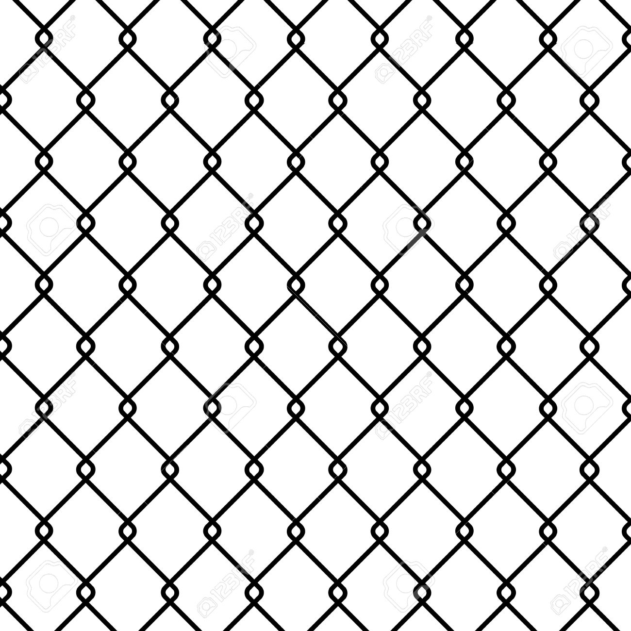 Chain Link Fence Drawing at GetDrawings.com | Free for personal use ...