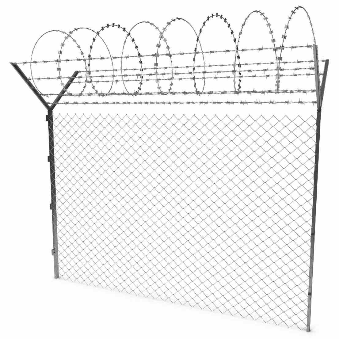 1106x1106 Chain Link Fence Accessories Home Amp Gardens Geek