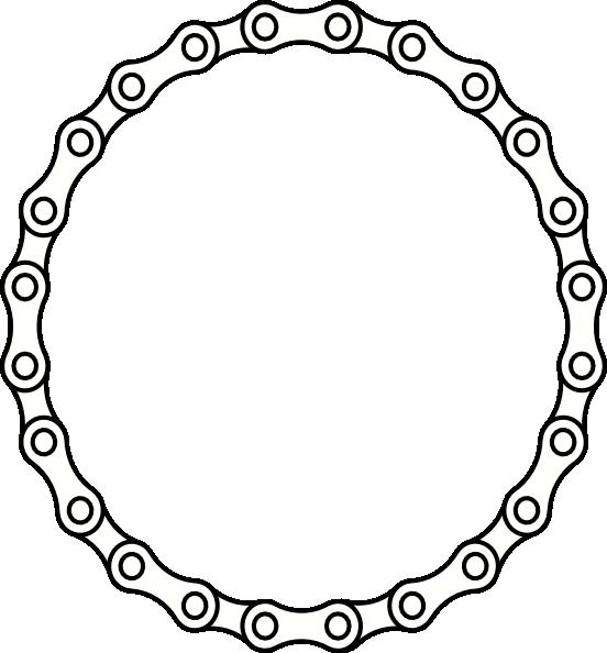 552x594 Chain Links Clip Art