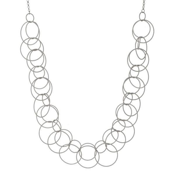 600x600 Hammered Chain Links Necklace Sadie Grea Boutique