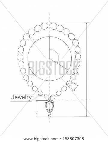 360x470 Jewerly Production Sketch. Jewelry Vector Amp Photo Bigstock