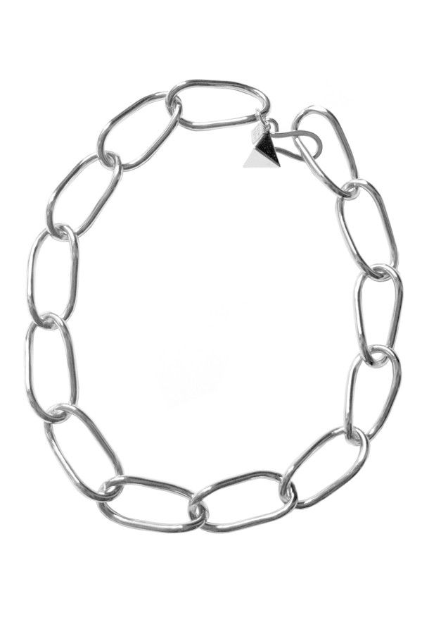 600x900 Pyramid Chain Link Necklace