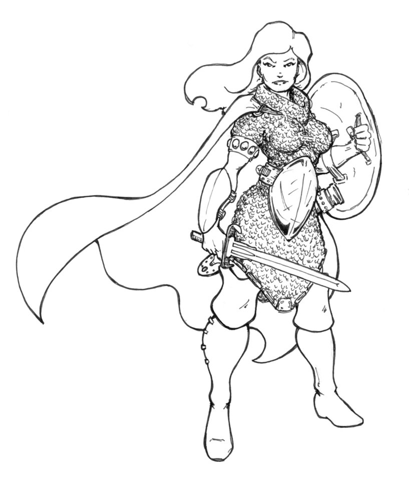 Chainmail Drawing