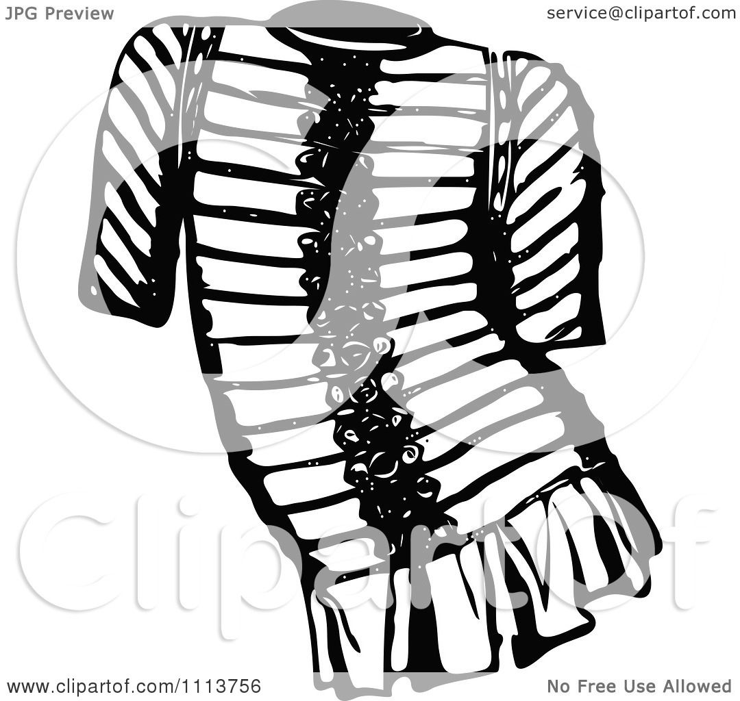 1080x1024 Clipart Vintage Black And White Ancient Chainmail Coat 4