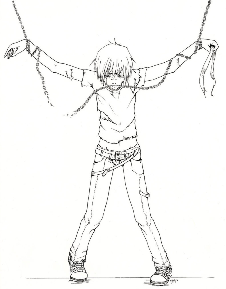 791x1011 Chains Of Love By Kairisakura