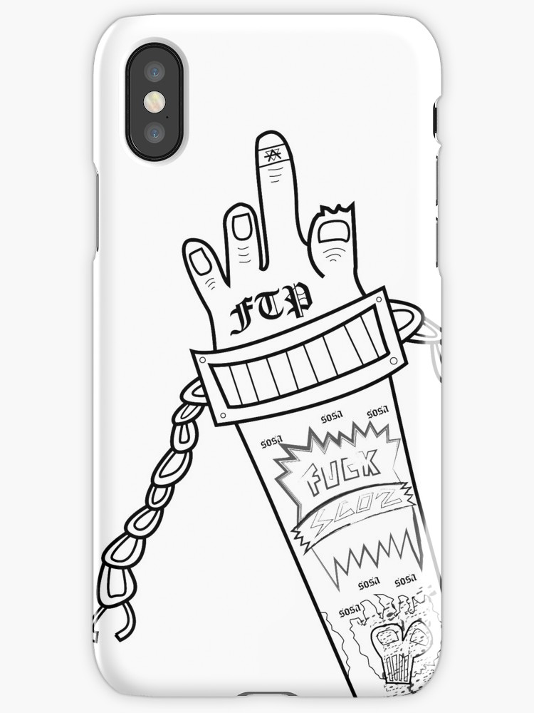 750x1000 Bone, Chains Amp Ftp Iphone Cases Amp Skins By G0vinda Redbubble