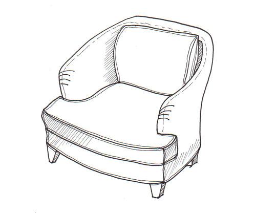 Superieur 498x416 The Stephanie Chair