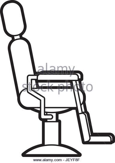 383x540 Barber Chair Drawing Stock Photos Amp Barber Chair Drawing Stock