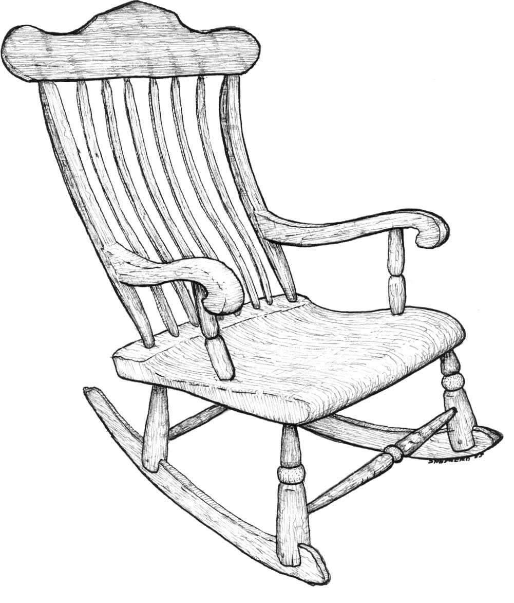 Chair Line Drawing at GetDrawings | Free download