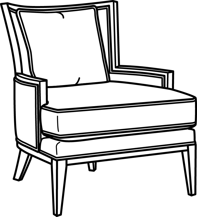 Chair Line Drawing At Getdrawings Free Download