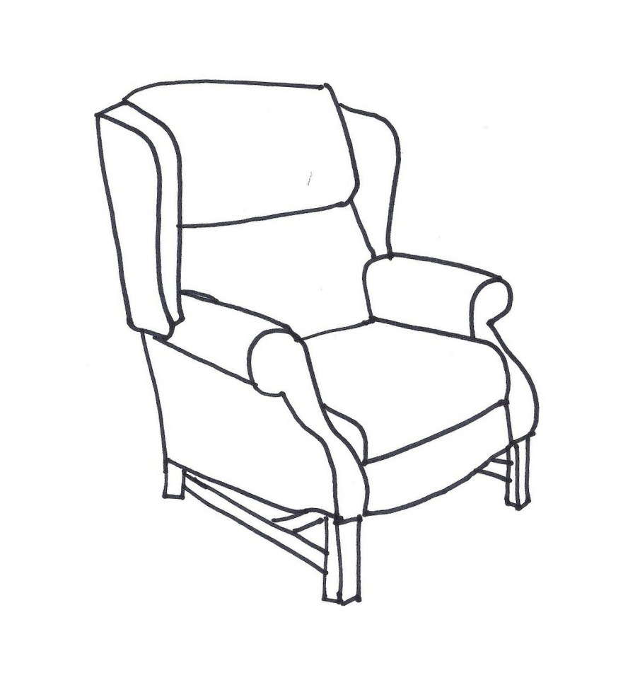881x968 Chairs For Drawing Line Drawings Of Chairs