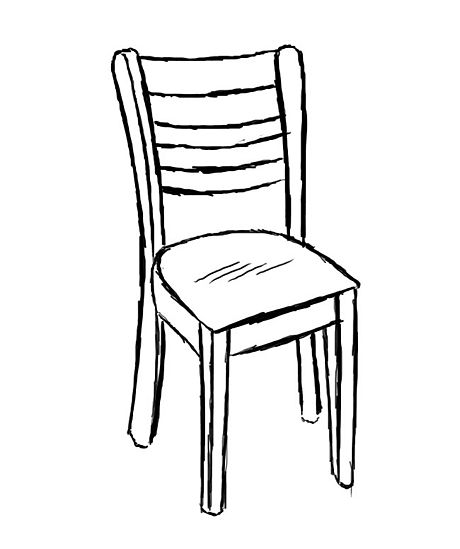 460x549 Draw a Chair Elementary art Art school and Art lessons  sc 1 st  GetDrawings.com & Chairs Drawing at GetDrawings.com | Free for personal use Chairs ...