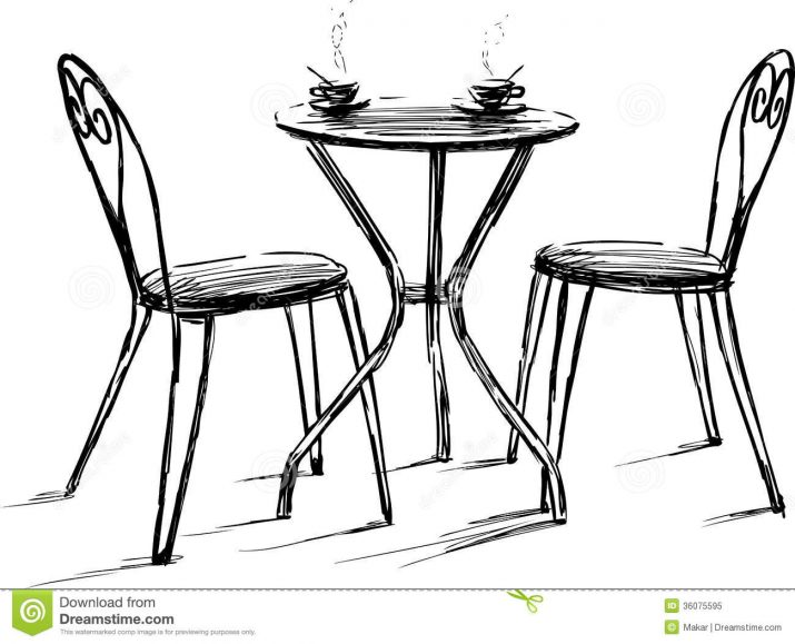 chairs drawing at free for personal use. Black Bedroom Furniture Sets. Home Design Ideas