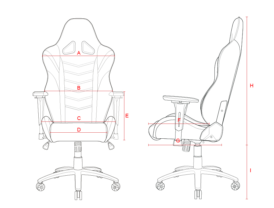 957x726 Akracing Overture Gaming Chair Yellow