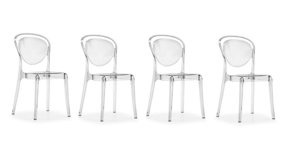 934x517 Calligaris Set Of 4 Chairs Parisienne Cs1263