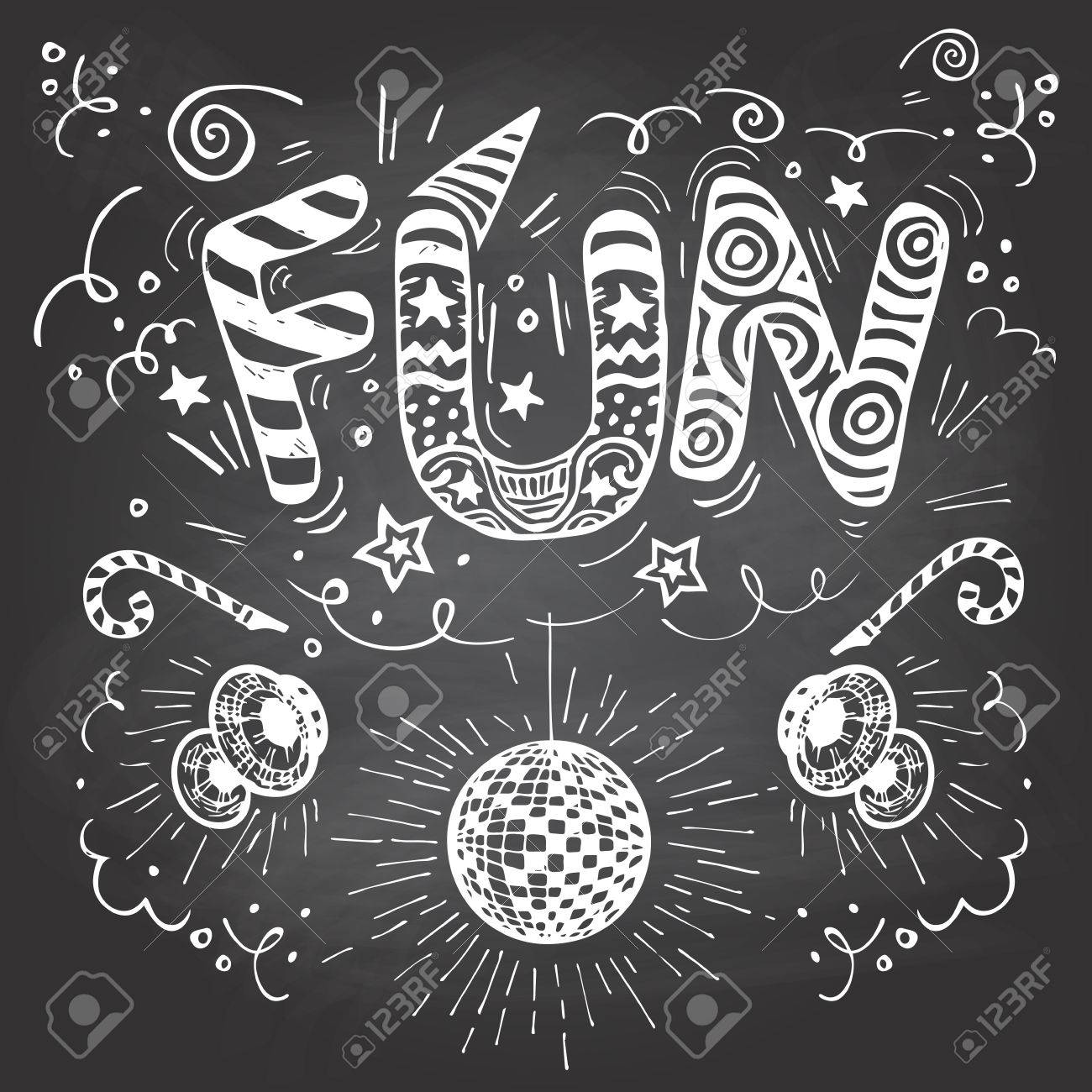 1300x1300 Fun Hand Lettering Typography With Hand Drawn Elements