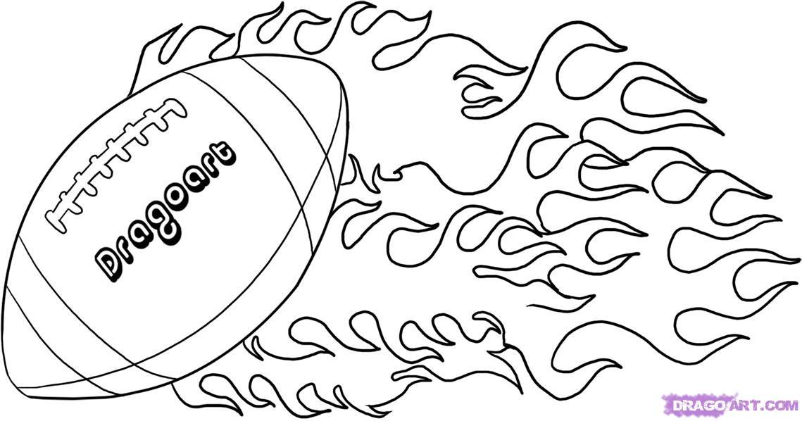 1139x598 Drawn Football Line Drawing