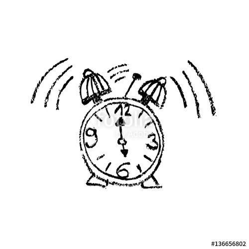 500x500 Doodle Alarm Clock 6 Or 18