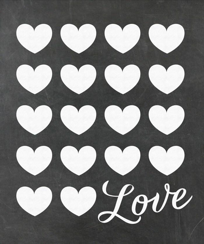 700x840 Remodelaholic Chalkboard Love Poster Printable