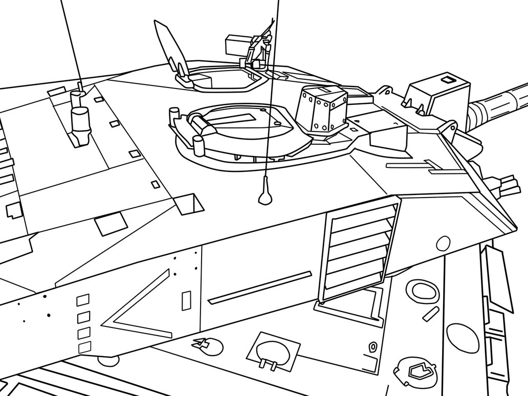 1032x774 Challenger 2 Turret. By Oleedueolo
