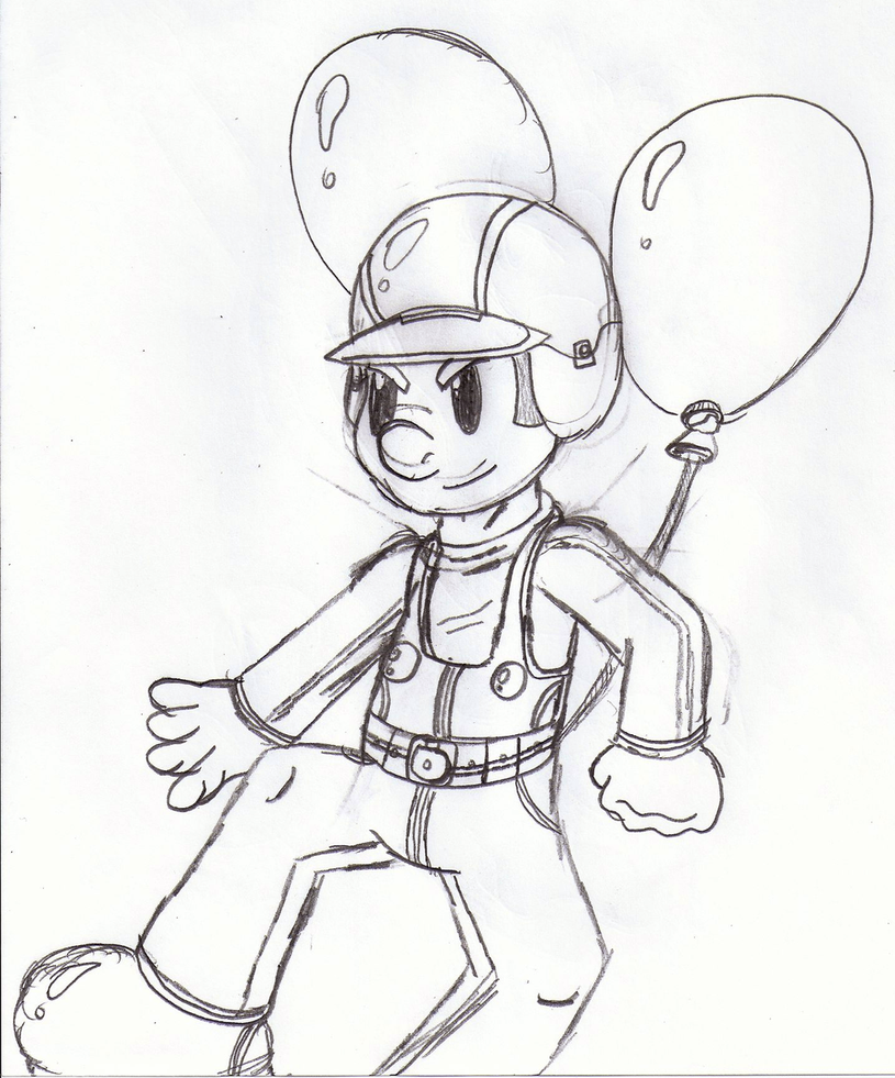 815x981 New Challenger Balloon Fighter By Crossovergamer