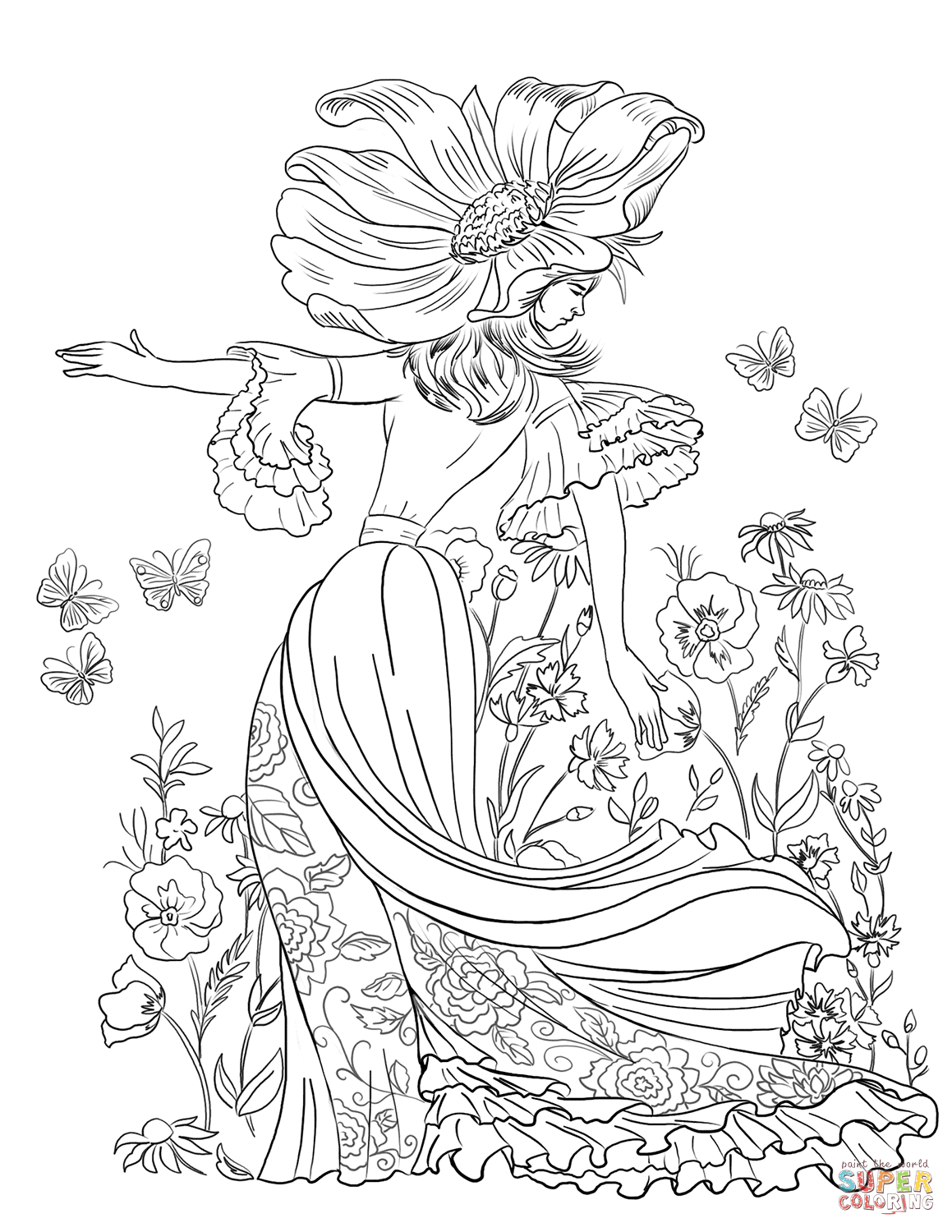 How to draw a daisy, queen of wildflowers 59