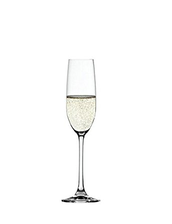 345x450 Spiegelau Salute Champagne Prosecco Cava Glass (Flute) Set