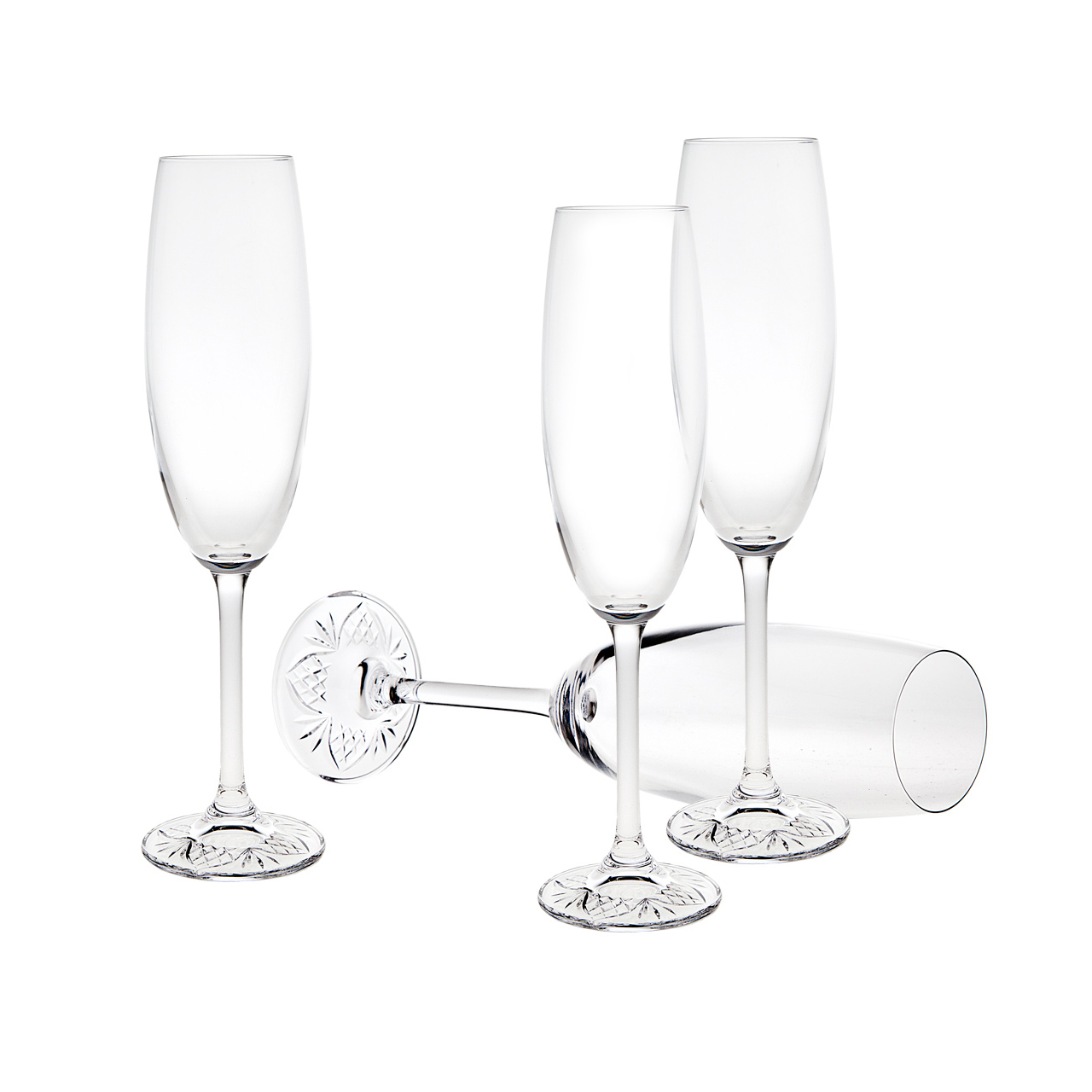 1280x1280 A Taste Of Dublin Set Of 4 Champagne Flutes Bowring