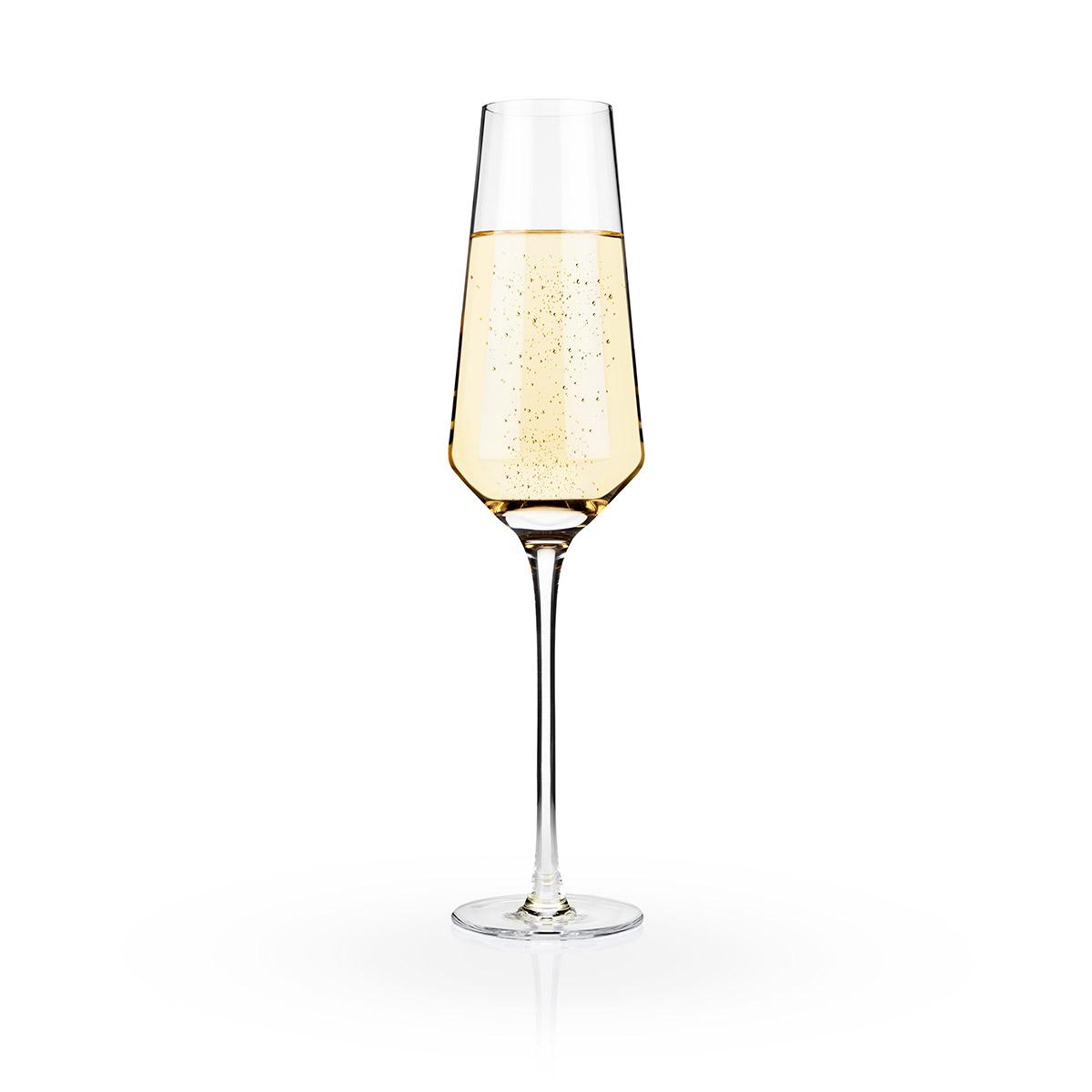 1200x1200 Raye Crystal Champagne Flutes (Set Of 2) By Viski Elegant Gifts