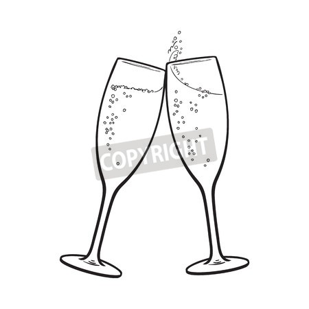 clip art champagne glass with bubbles awesome graphic