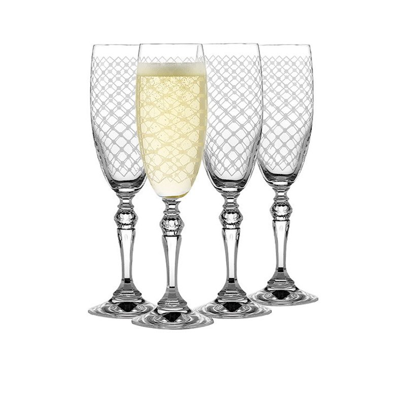 800x800 Rona Helmsley Champagne Flute 170ml Set Of 4 Buy Champagne