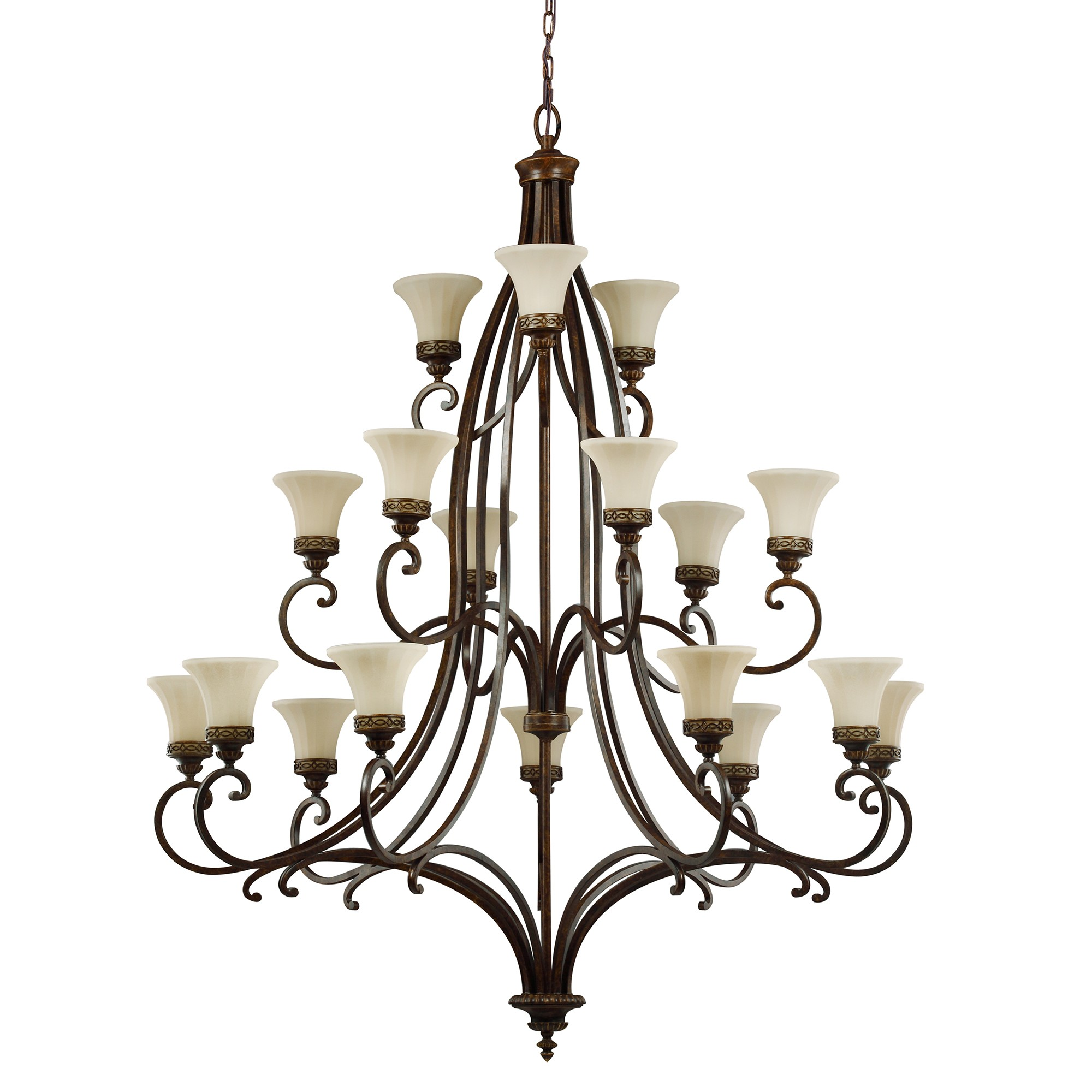 2000x2000 Drawing Room 18 Light Chandelier Ceiling Fitting