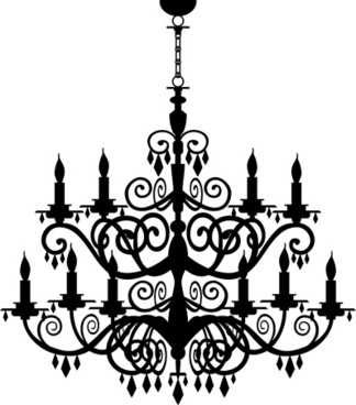 324x368 Chandelier Free Vector Download (67 Free Vector) For Commercial