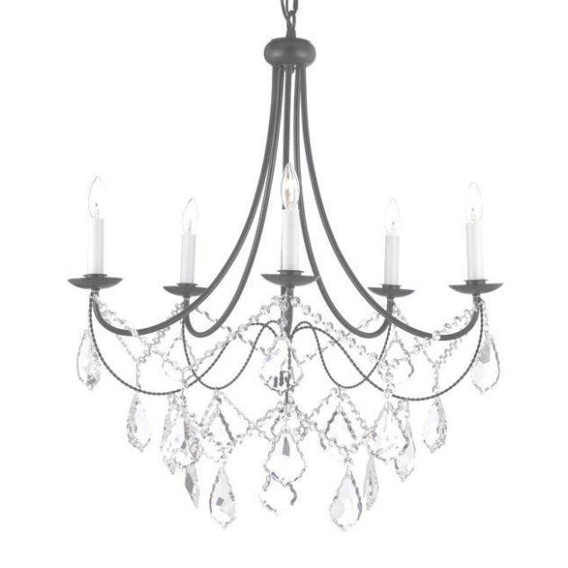 631x631 45 Inspirations Of Iron And Crystal Chandelier