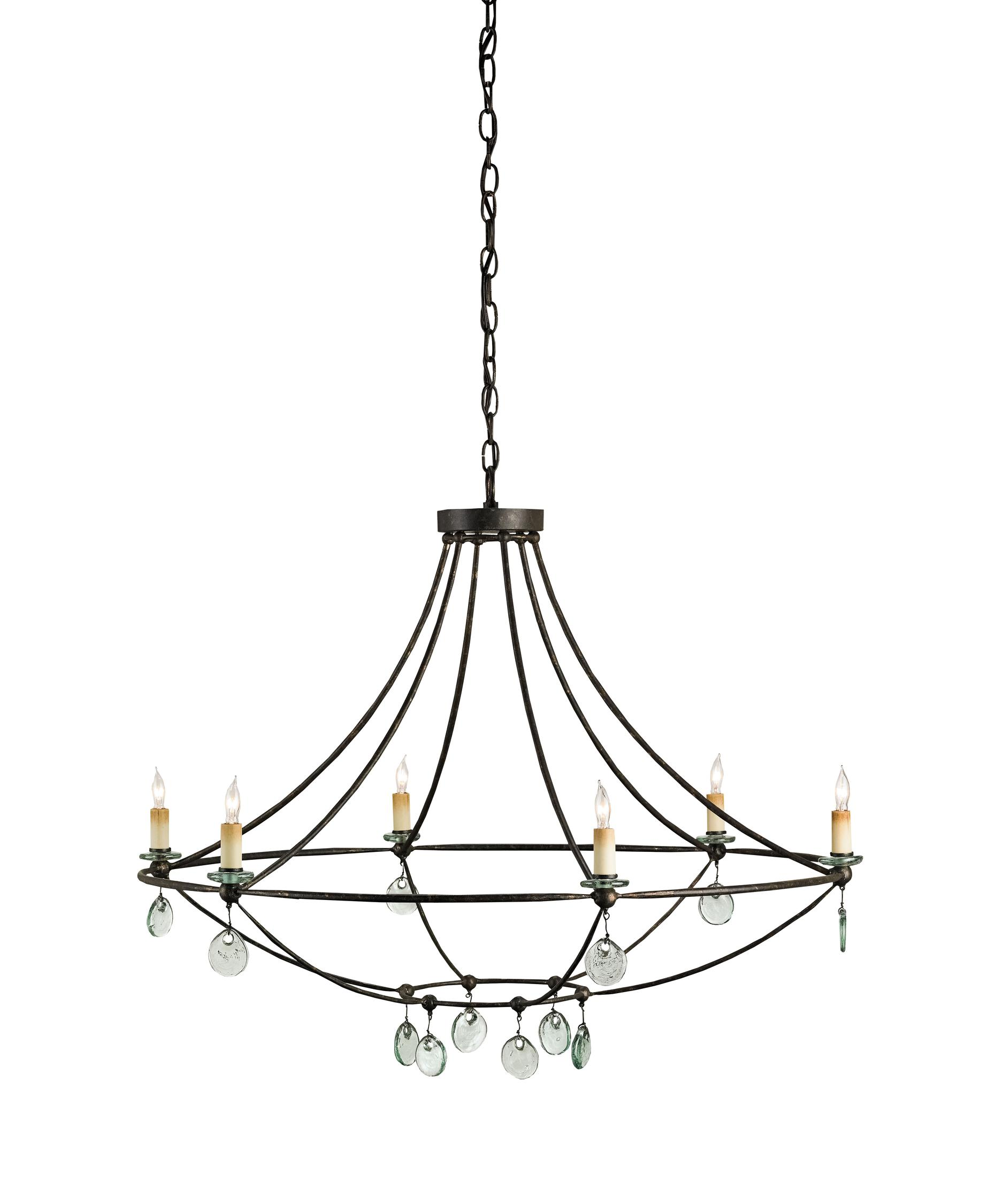 1875x2250 Currey And Company 9921 Novella 6 Light Chandelier Capitol