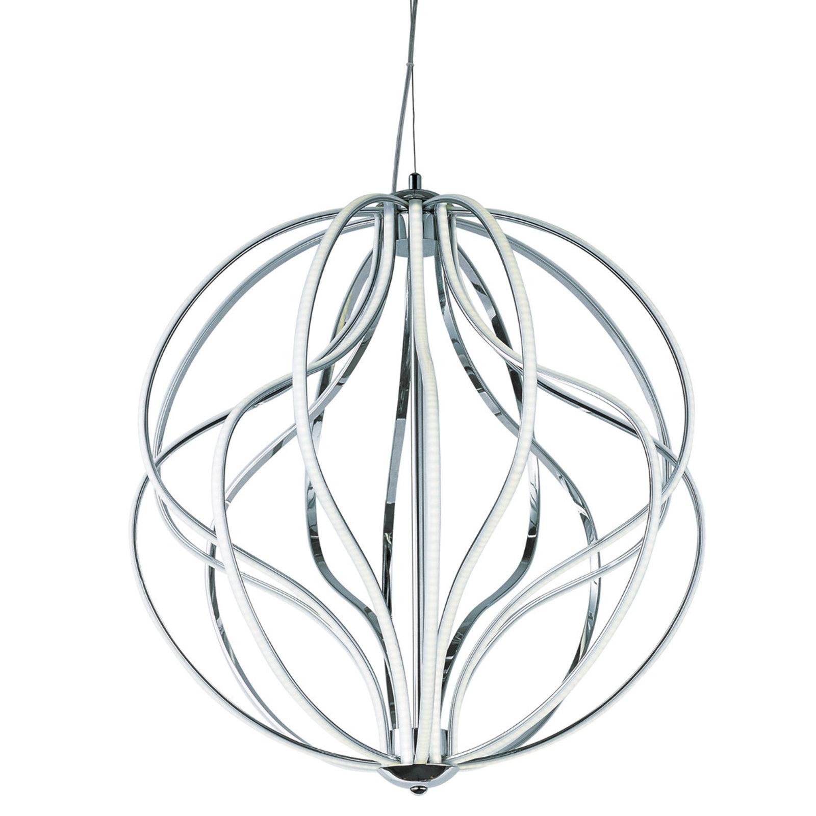 1600x1600 Medium Led Spiral Chandelier