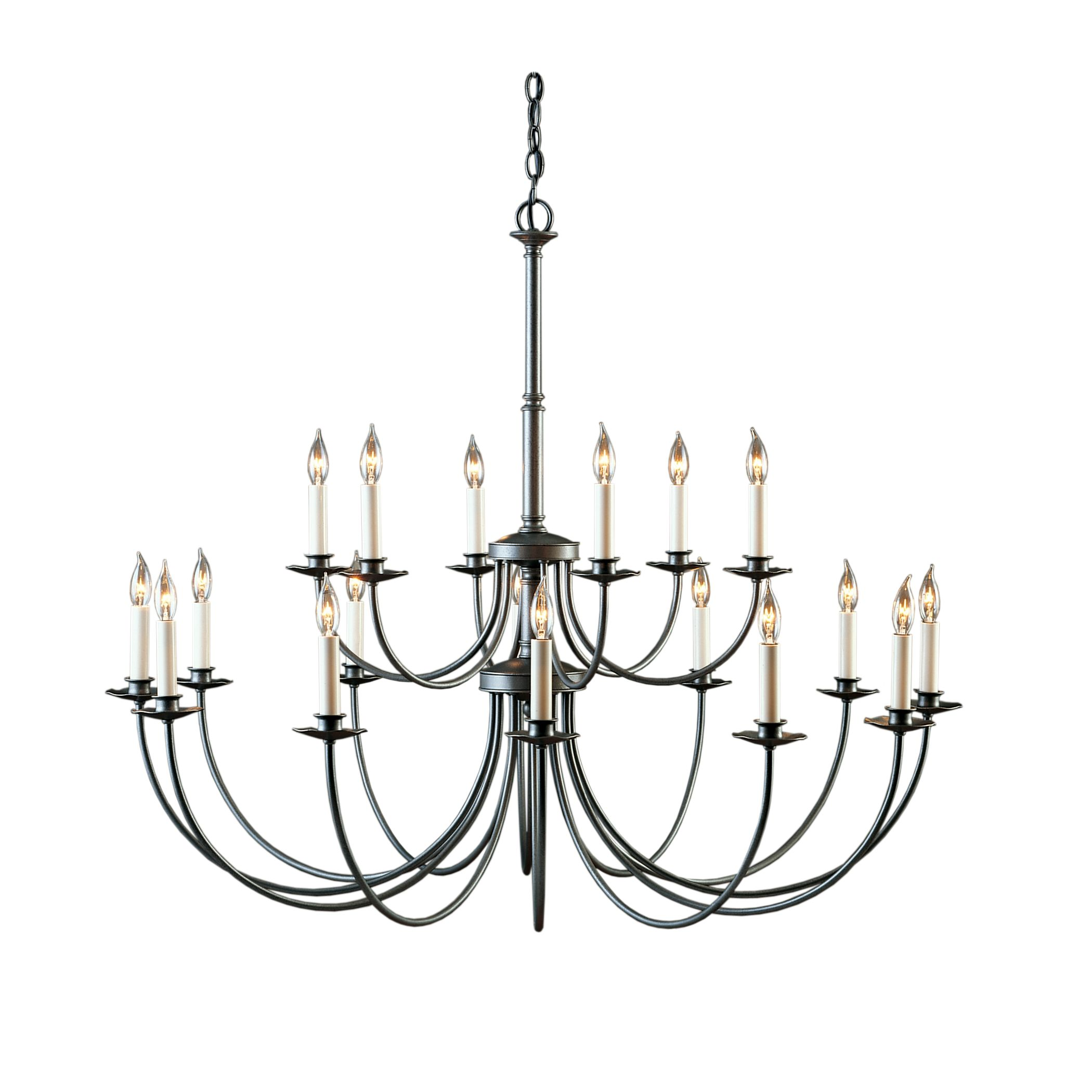 2100x2100 Simple Lines 18 Arm Chandelier Hubbardton Forge